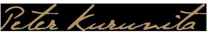 Peter Kuruvita script logo